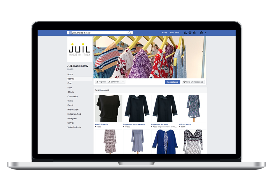Juil made in italy shop facebook