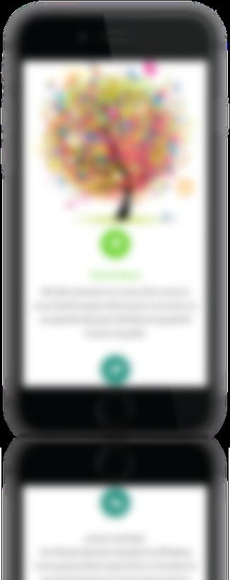 mockup dello sviluppo della homepage del sito web responsivo per Bright Academy