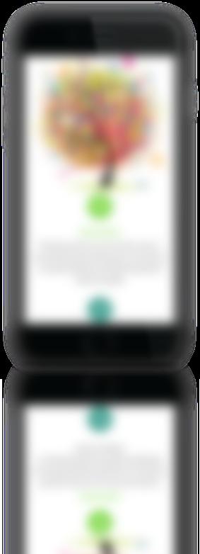 mockup sviluppo della homepage del sito web responsivo visibile da mobile per Bright Academy