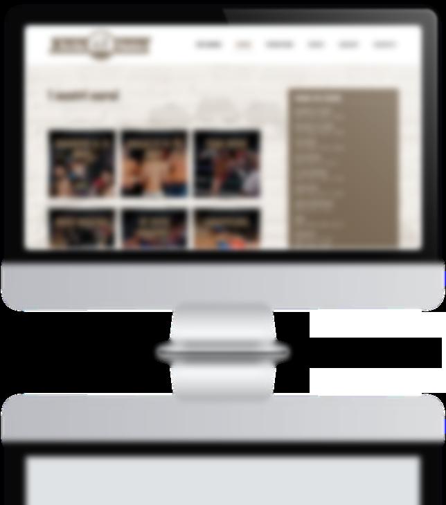 mockup sviluppo sito web responsivo vecchia maniera 2