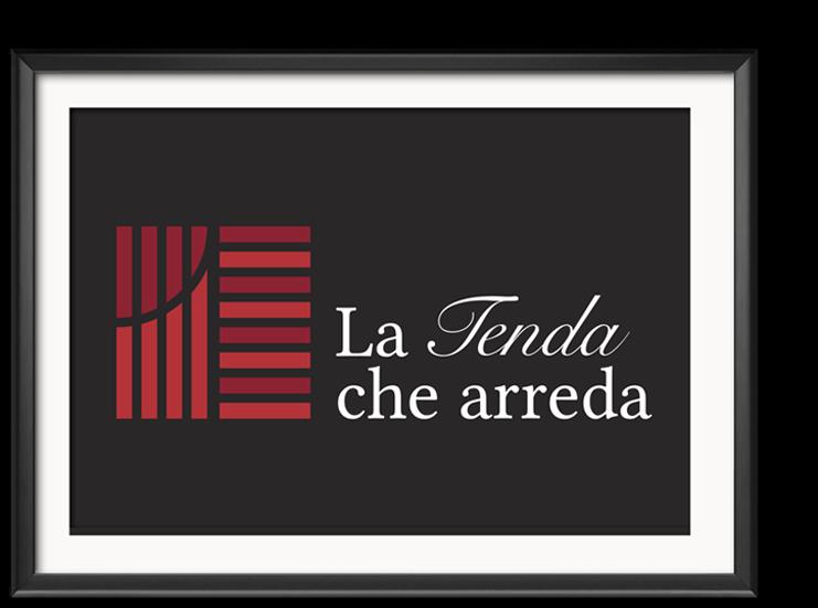 Design del Logotipo La Tenda Che Arreda