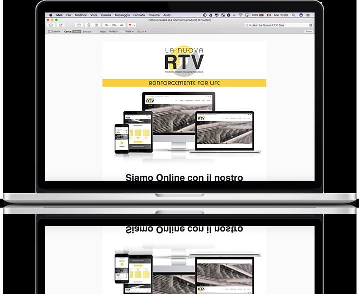 mockup-email-marketing-online-mailchimp-template-grafico-la-nuova-rtv-nuovo-sito