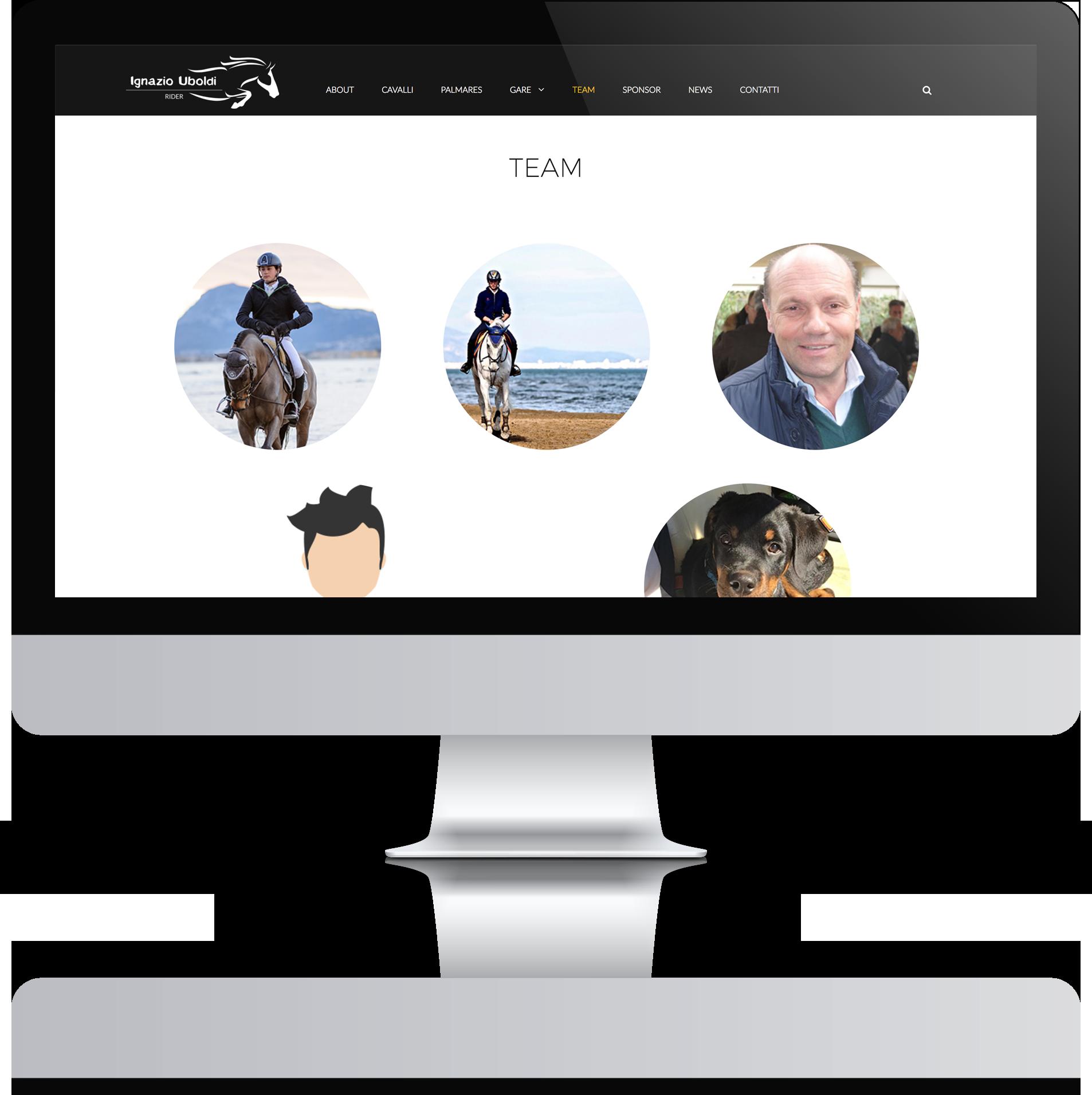 mockup tablet sviluppo sito web responsivo ignazio uboldi
