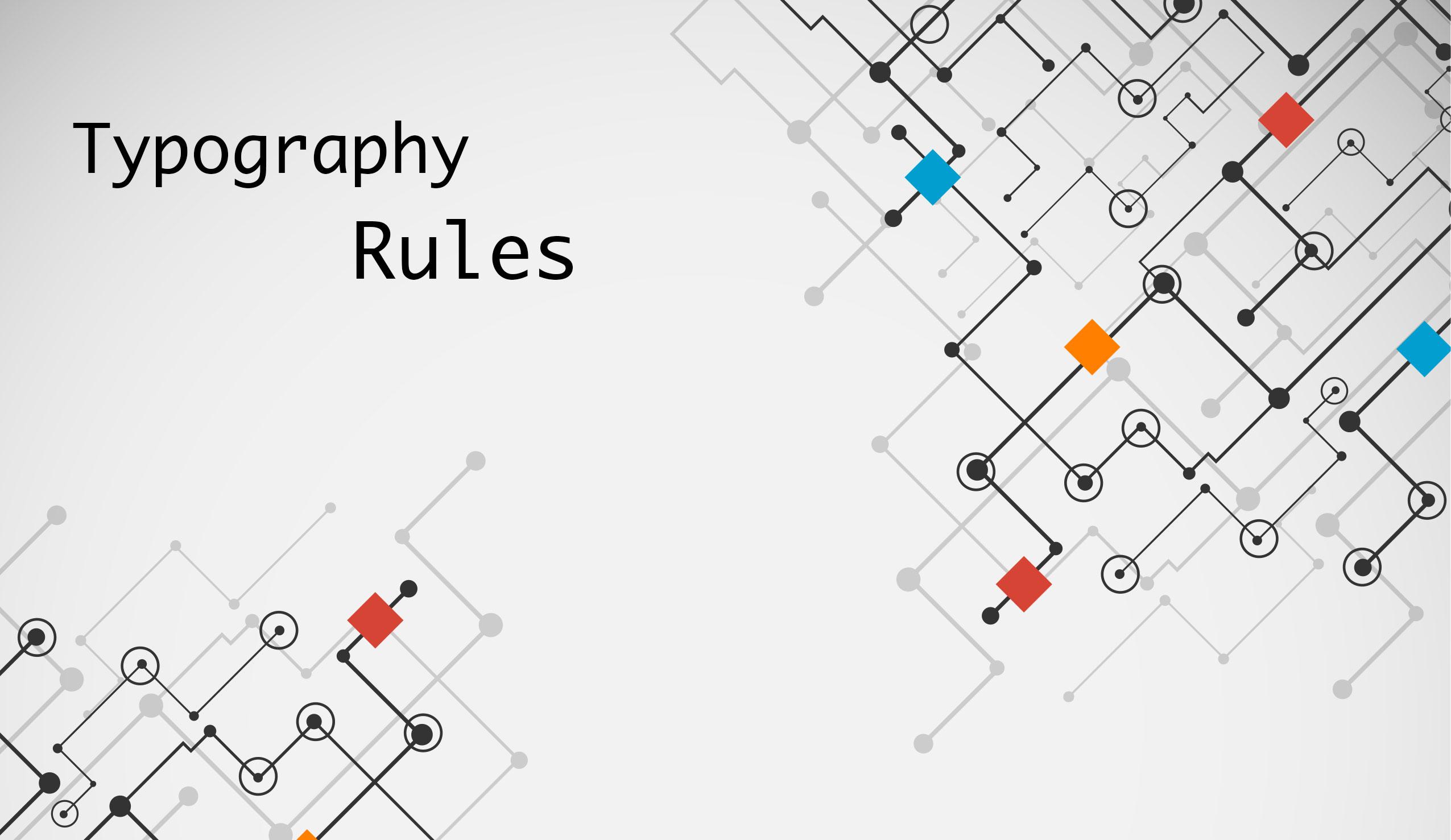 Typography: le best practice per il designer