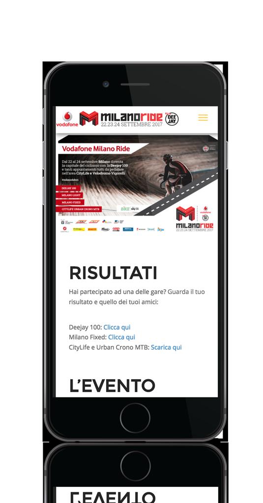 Vodafone Milano Ride