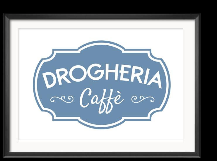 Design del Logotipo DROGHERIA caffè