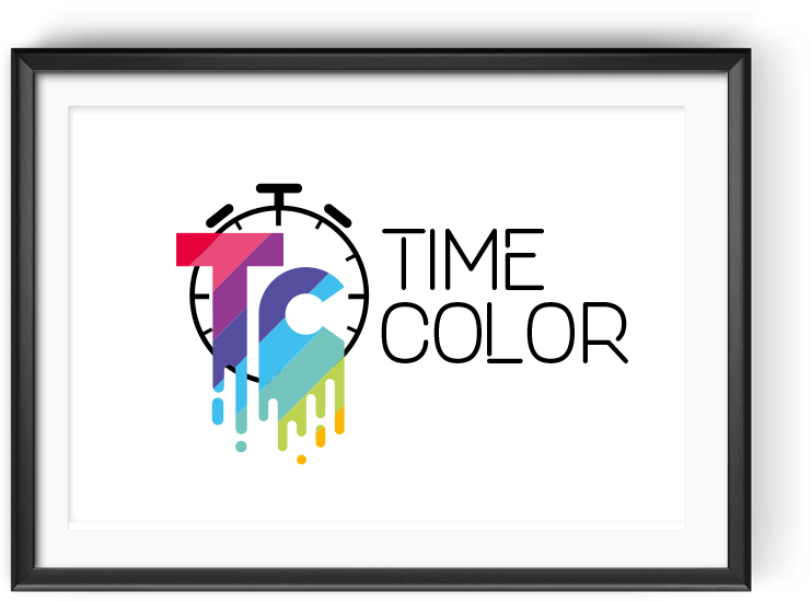 Design del Logotipo TIME COLOR