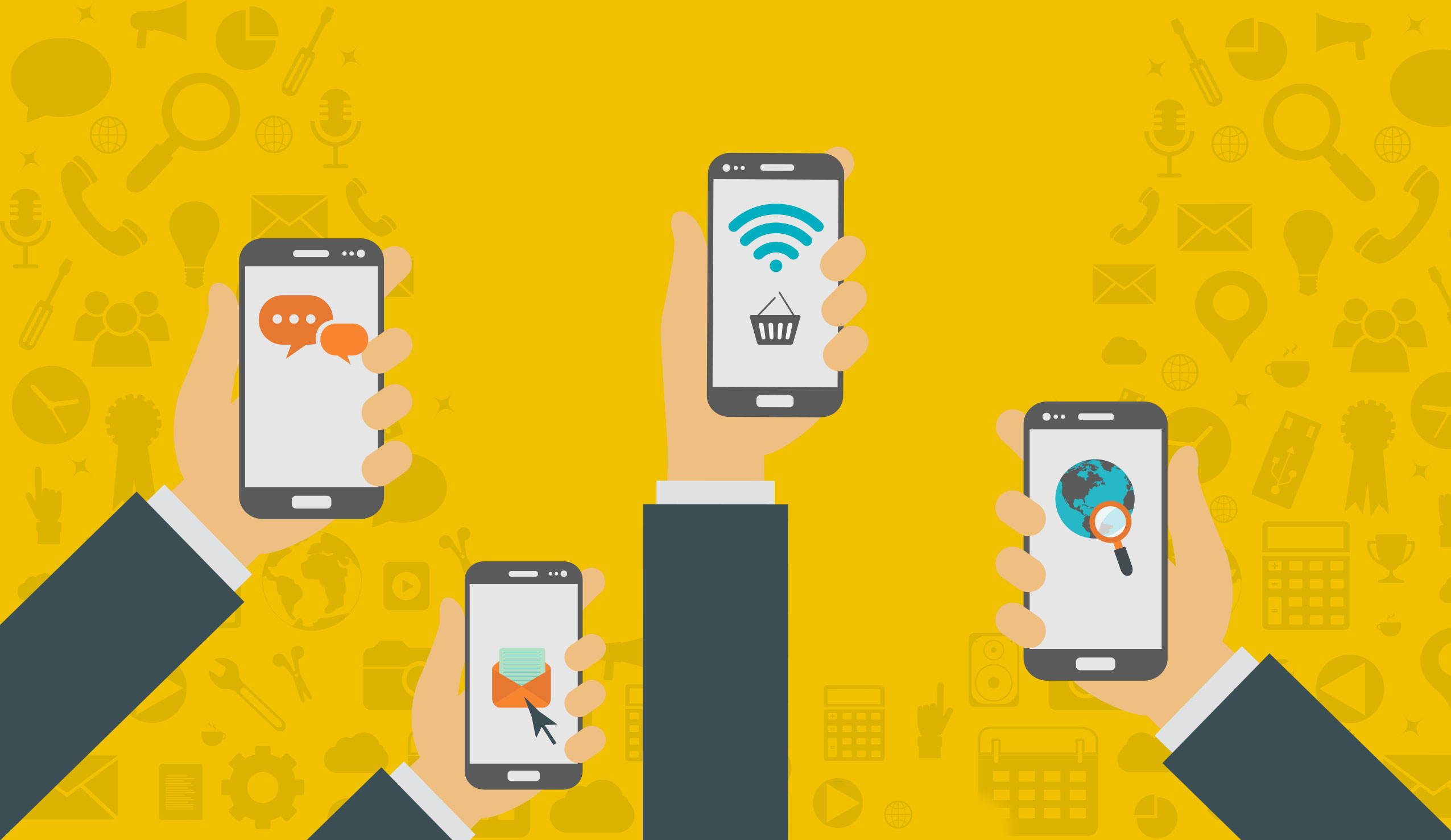 Anche nel 2017 cresce l'utilizzo delle app mobile