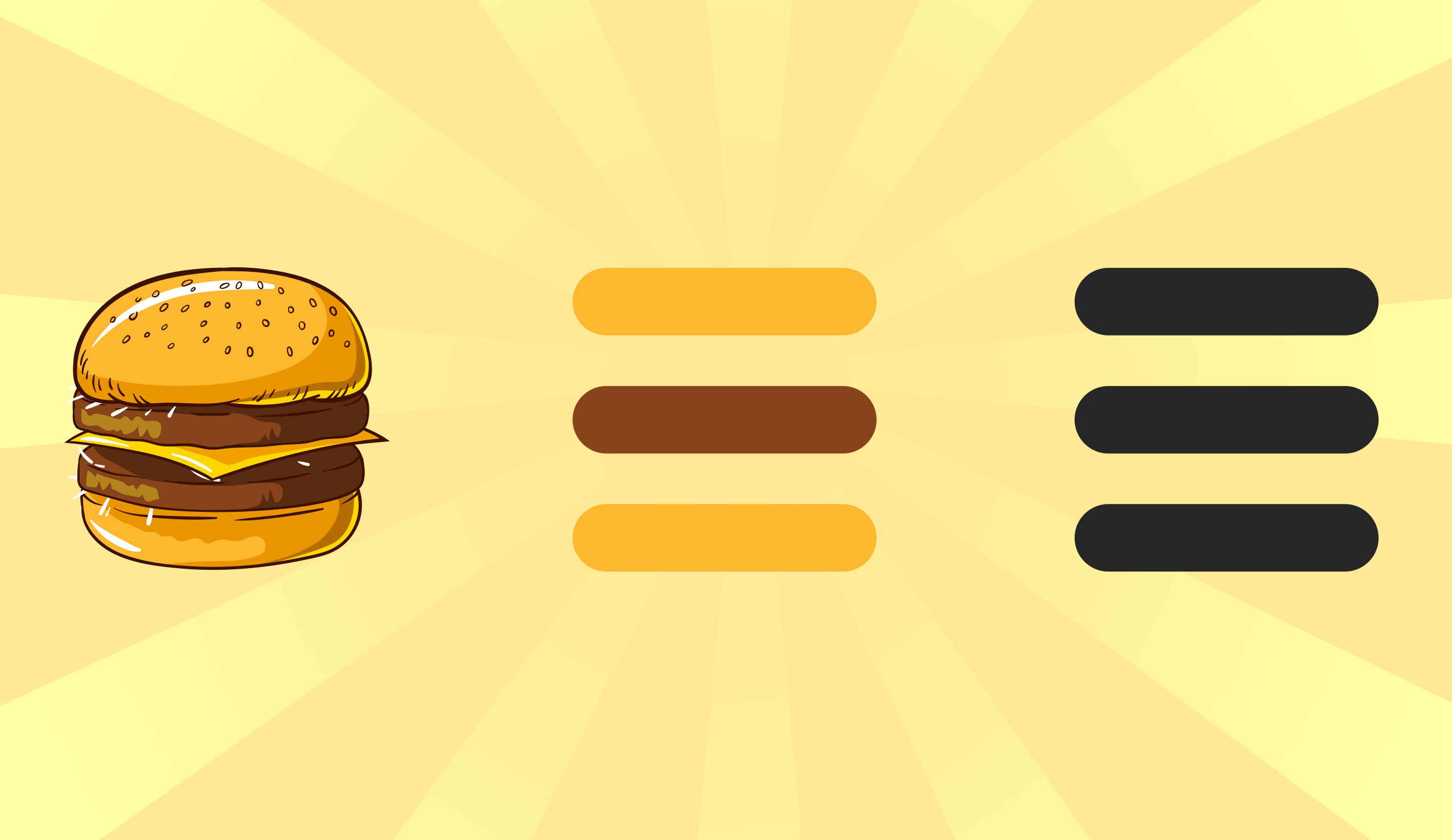 Hamburger menu: cos'è, quando è nato e come funziona