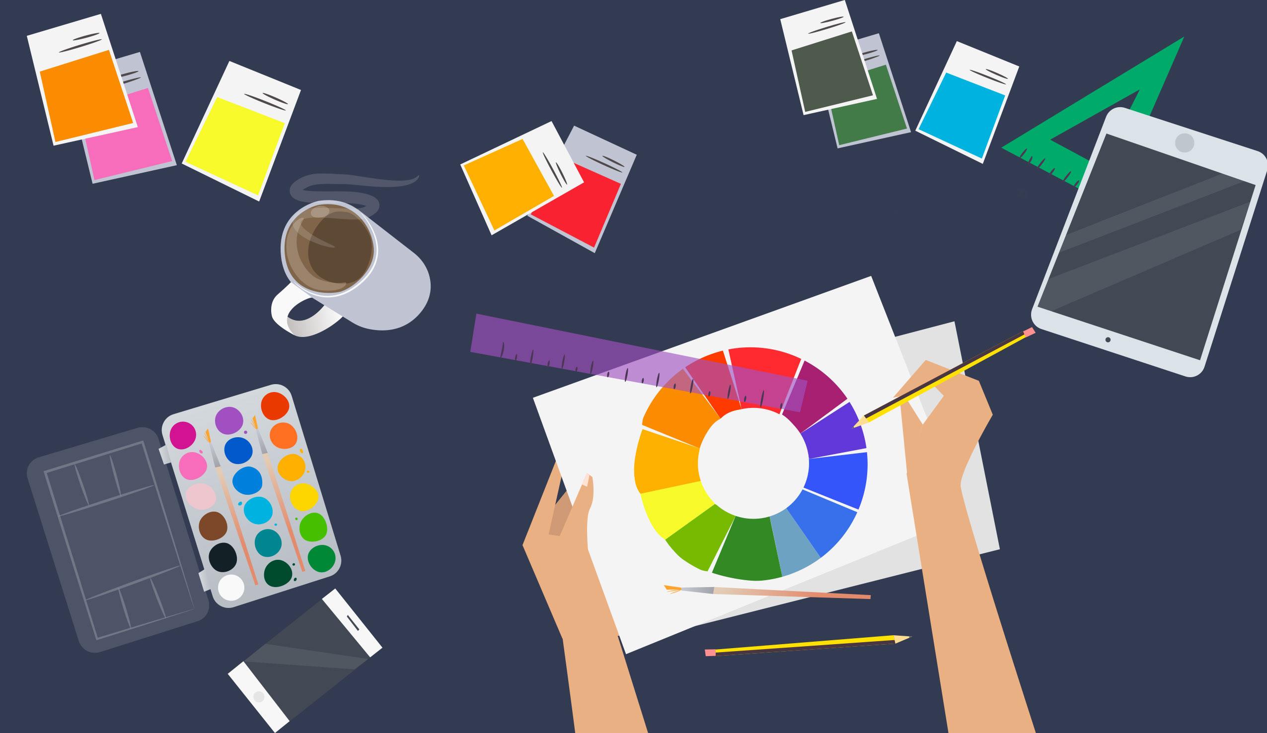 Come scegliere i colori giusti per un progetto grafico
