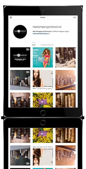 Haircompany Professional sito social Network