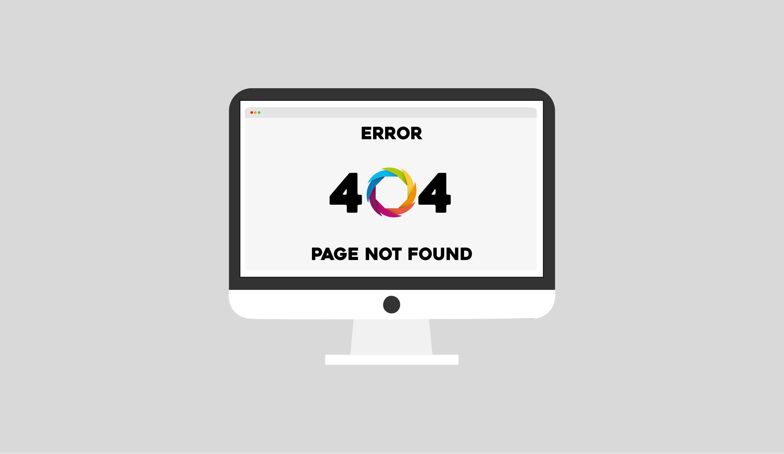 Errore 404, cosa significa questa pagina di errore?
