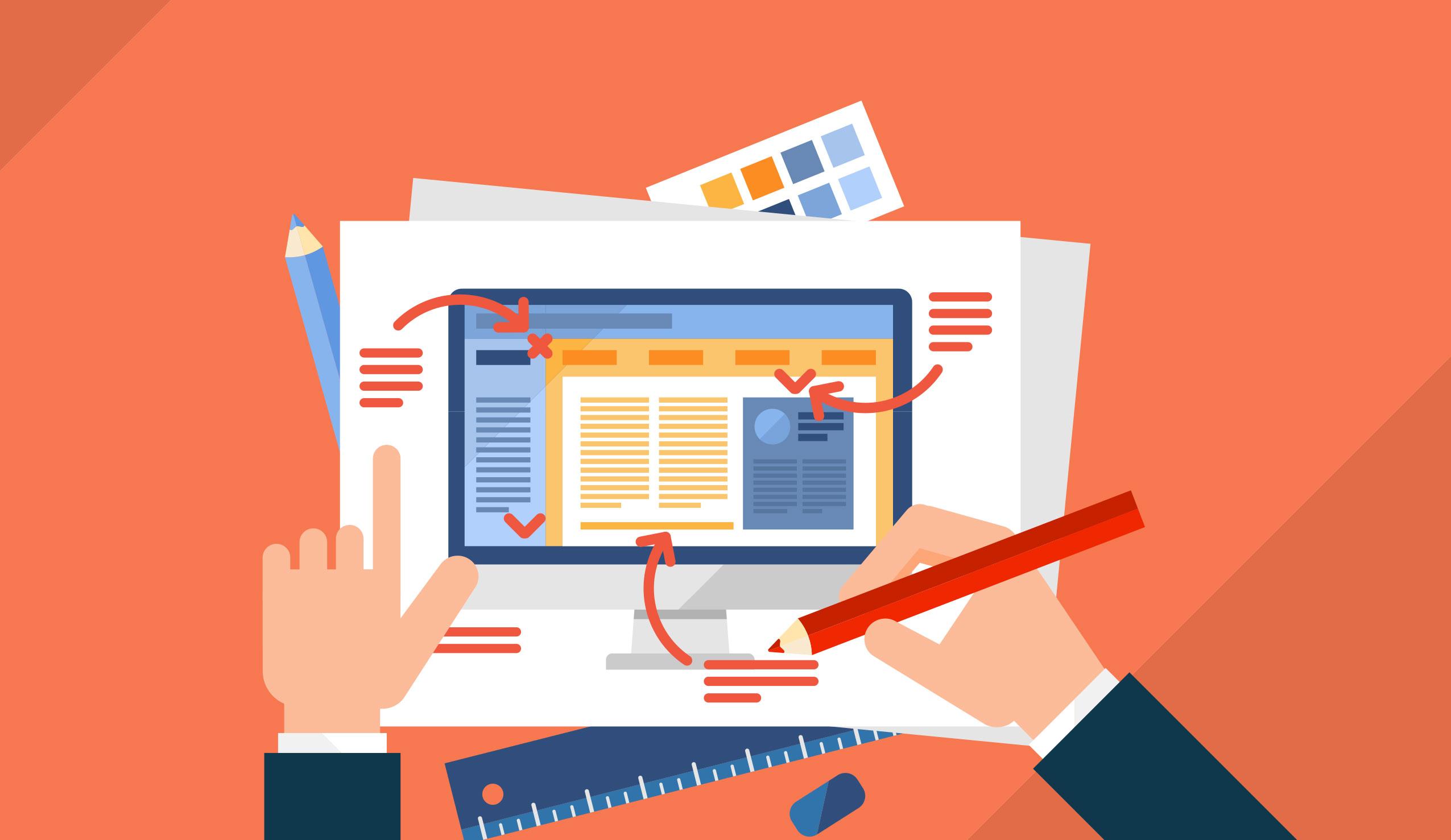 Cosa rende visivamente attraente un sito web?