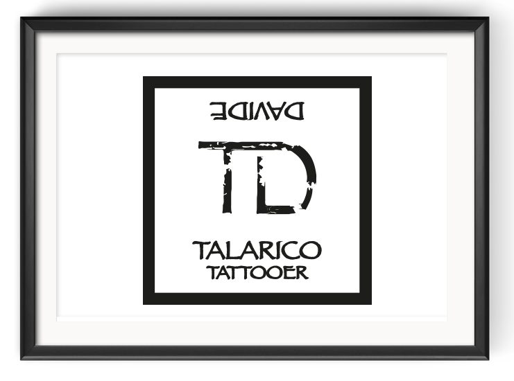 Design del Logotipo Talarico Tattooer