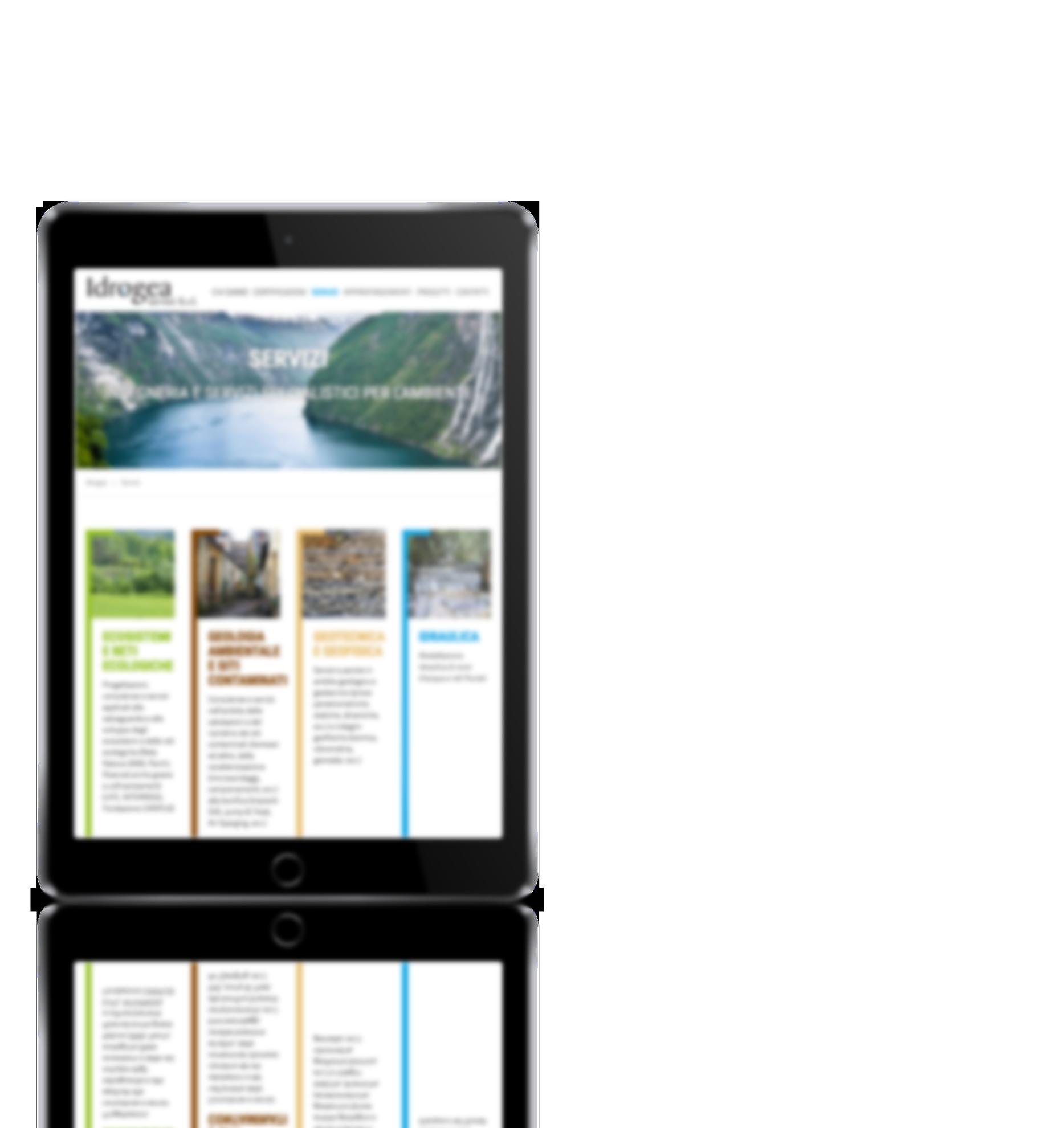 Sviluppo sito web Idrogea