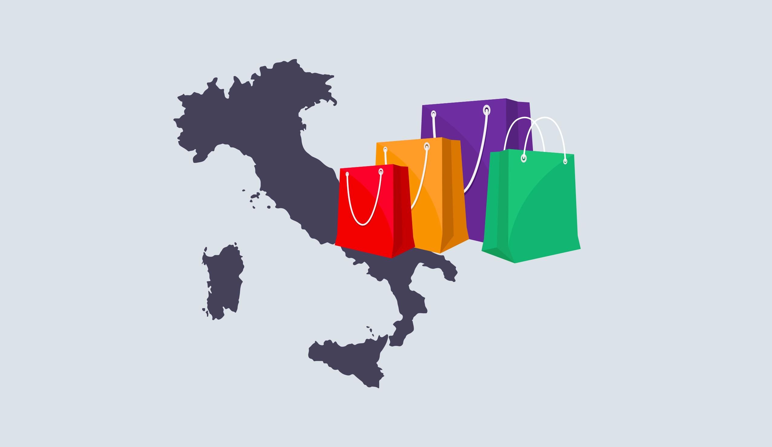Ecommerce in Italia, il Sud guida la classifica. Roma è la prima città